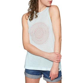 Animal Smile Womens Tank Vest - Blue Haze