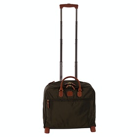 Brics X Travel Pilotcase Luggage - Olive