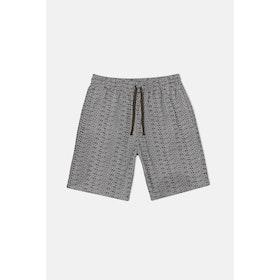 Carhartt Typo Shorts - Print Tobacco Wax