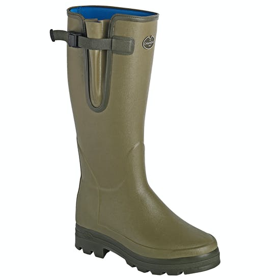 Le Chameau Vierzonord Neoprene Lined Ladies Wellingtons