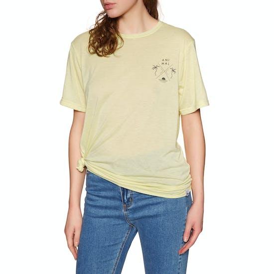 Animal Time Flies Womens Short Sleeve T-Shirt