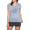 Animal Rolling Rain Womens Short Sleeve T-Shirt - Forever Blue