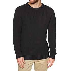 Depactus Passage Crew Knit Sweater - Black