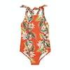 Seafolly Ocean Alley Tank Girls Swimsuit - Tangelo