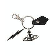 Vivienne Westwood Gadget Lightning Bolt And Orb Keyring