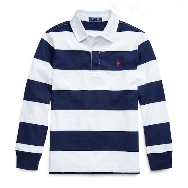 Ralph Lauren Long Sleeved Boy's Rugby Top