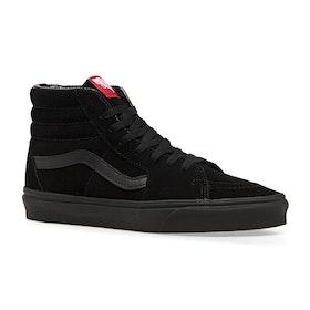 Vans Sk8 Hi Shoes - Black Black