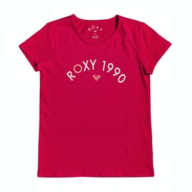 T-Shirt à Manche Courte Roxy Roses In The Rain - Barberry