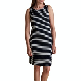 Barbour Dalmore Striped Dress - Navy White