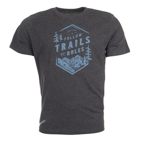 United by Blue Follow Trails Graphic T Shirt - Black