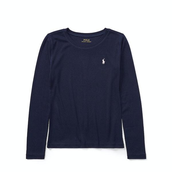 Ralph Lauren Classic Girl's Long Sleeve T-Shirt