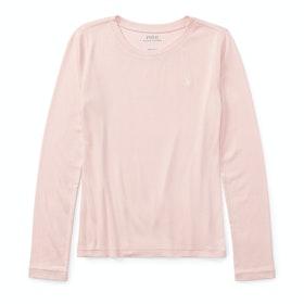 Polo Ralph Lauren Classic Long Sleeve T-Shirt - Hint Of Pink