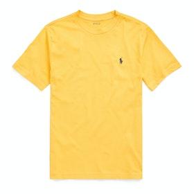 Polo Ralph Lauren Crew Neck Short Sleeve T-Shirt - Gold Bugle