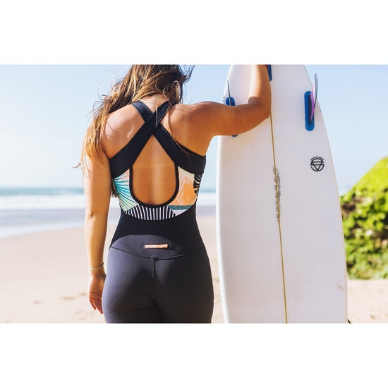 Roxy 1.5mm POP Surf Long John Springsuit Womens ウェットスーツ