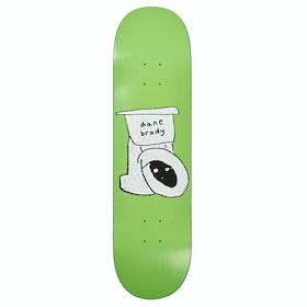 Planche de Skateboard Polar Skate Co Dane Brady 8 Inch - Toilet