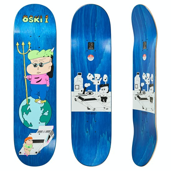 Planche de Skateboard Polar Skate Co Oskar Rozenberg 8.25 Inch