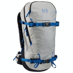 Burton Ak Incline 30l Snow Backpack - Stout Wht Coat Rip