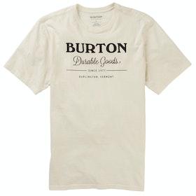 Burton Durable Goods T Shirt - Stout White
