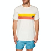 Quiksilver Season stripe Short Sleeve T-Shirt