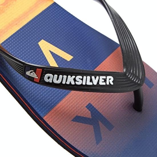 Quiksilver Molokai Wordblock Flip Flops