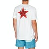 Quiksilver Rock And Roll Short Sleeve T-Shirt - White