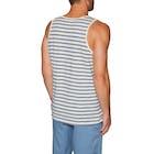 RVCA Vincent Stripe Tank Vest