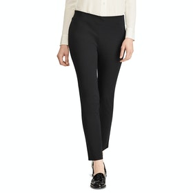 Lauren Ralph Lauren Keslina Skinny Women's Trousers - Black