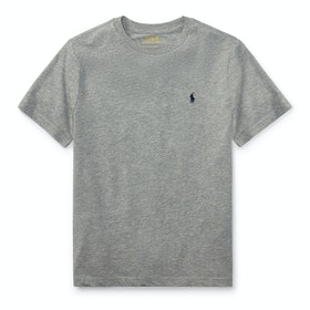 Polo Ralph Lauren Crew Neck Short Sleeve T-Shirt - Andover Heather