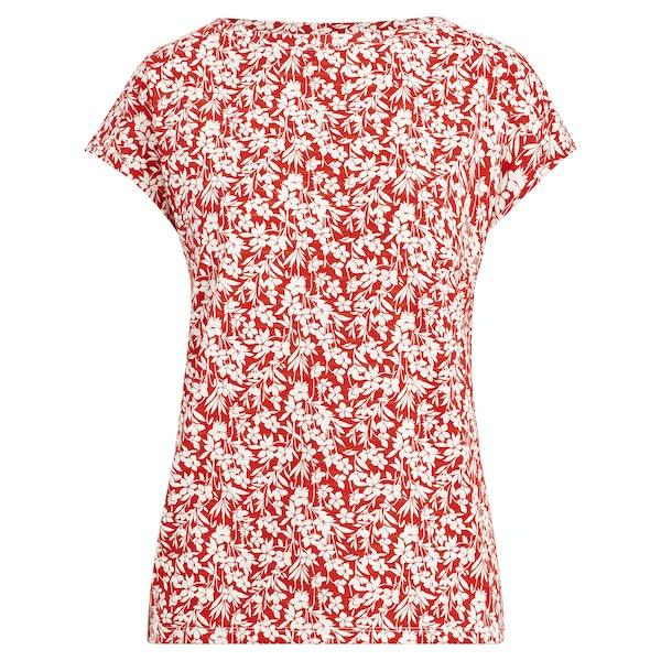 Ralph Lauren Grieta Short Sleeve Dames Top