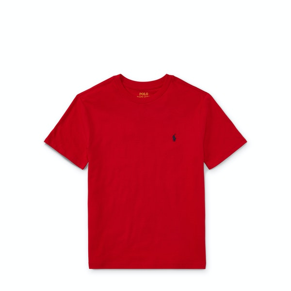 Ralph Lauren Crew Neck Boy's Short Sleeve T-Shirt