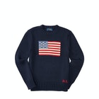 Ralph Lauren Flag Crew Neck Boy's Sweater