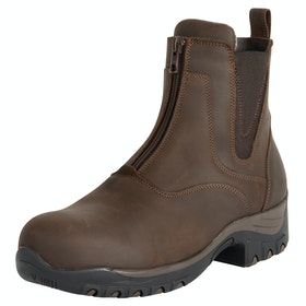 Fonte Verde Luso Zipped Paddock Boots - Chocolate