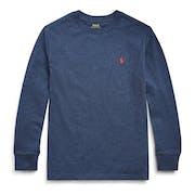 Ralph Lauren Crew Neck Boy's Long Sleeve T-Shirt