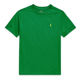 Polo Ralph Lauren Crew Neck Short Sleeve T-Shirt - Athletic Green