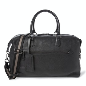 Marsupio Polo Ralph Lauren Pebbled Leather - Black