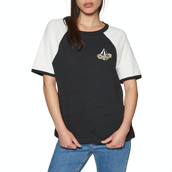 Volcom Stage 4 Ringer Womens Short Sleeve T-Shirt