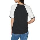 Volcom Stage 4 Ringer Ladies Short Sleeve T-Shirt