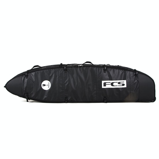 FCS Travel 3 Wheelie Funboard Surfboard Bag