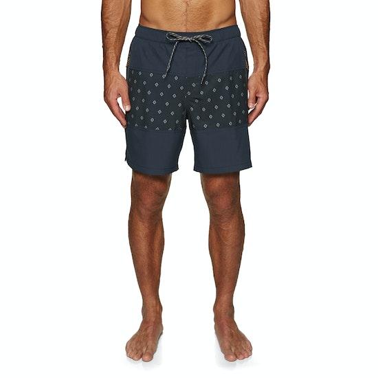 Quiksilver Waterman Manoa Rain Triblock 18 Swim Shorts