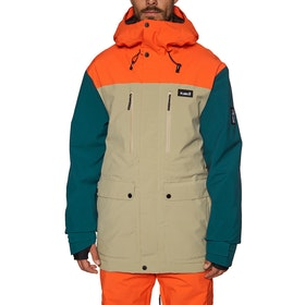 Planks Good Times Insulated Snow Jacket - Mushroom