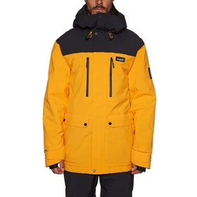 Blouson pour Snowboard Planks Good Times Insulated - Sunset Yellow