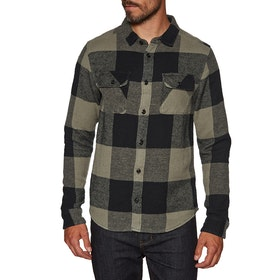 RVCA Haywire Flannel Shirt - Olive