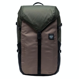 Herschel Barlow Large Backpack - Dark Olive Multi