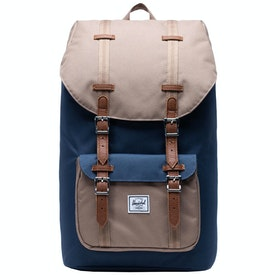 Herschel Little America Backpack - Navy/pine Bark/tan