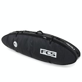 FCS Travel 3 All Purpose , Surfebrettbag - Black Grey