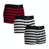 SWELL 3 Pack Boxer Shorts - Stripe