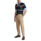 Ralph Lauren Custom Slim Fit Bear Men's Rugby Top