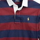 Ralph Lauren Striped Long Sleeve Rugby Top