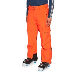 Pantalons pour Snowboard Planks Good Times Insulated - Lifeboat Orange