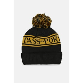 Pass-Port Pill Pom Pom Beanie - Yellow